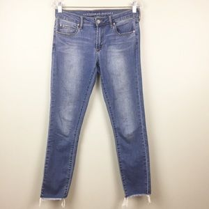 Articles of Society Jeans Skinny 28 RawHem Stretch